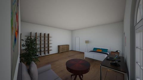sample 1 - Bedroom  - by tsisia kiknadze