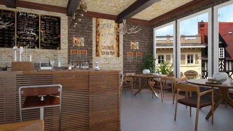 cozy cafe  - Modern - by hanonrose