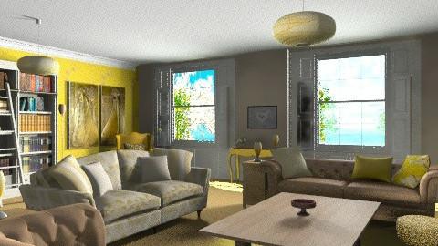 Aristocracy Dreams - Vintage - Living room  - by tanithrea