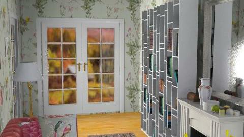 ingresso 2 - Retro - Living room  - by catcarla