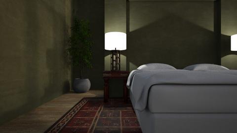 Jade - Bedroom  - by LuzMa HL