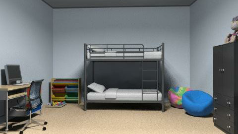 kids room 2 - Minimal - Kids room  - by amwerner