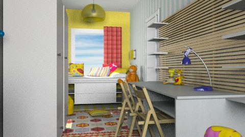 ikea kids - Eclectic - Bedroom  - by chania