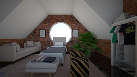 boujie bedroom - Modern - Bedroom  - by Zalpha