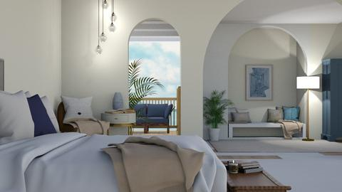 greek modern - Modern - Bedroom  - by cozB12