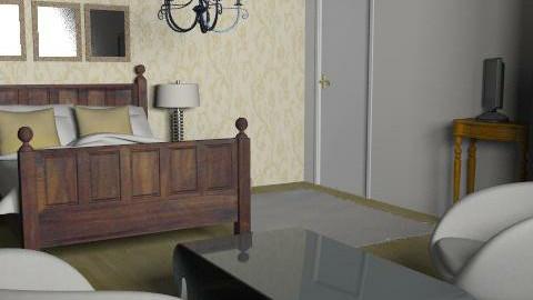 residencial - Retro - Bedroom  - by Ines Machado Borges