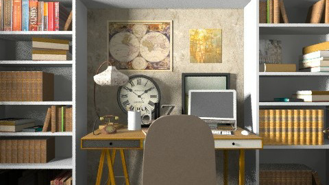 office - Office - by Grigoria Popli