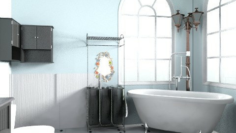 realistic dream - Vintage - Bathroom  - by alliesmiley