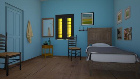 Arles - Bedroom  - by fippydude