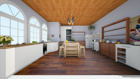 MODERN COUNTRY FEEL - Country - Kitchen  - by Stephanie Felix