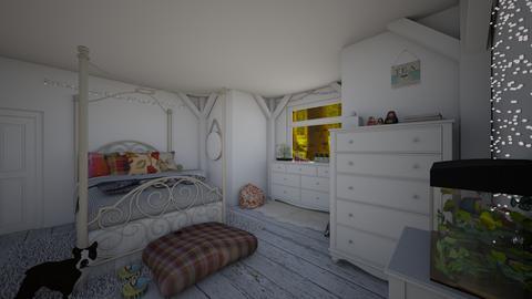 MyDreamAtticRoomAstetic  - Vintage - Bedroom  - by jade1111