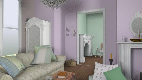 vintage home - Vintage - Living room  - by brittanyrisk1998