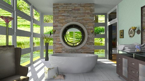 Roy3 - Eclectic - Bathroom  - by milyca8