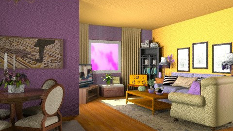 Sara - Eclectic - Living room  - by Open Spaces