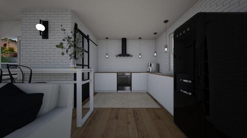 ModernVintage_KItchen - Kitchen  - by lovasemoke