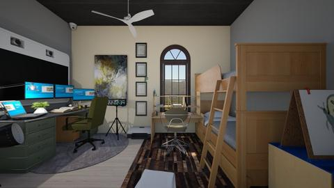 student - Modern - Bedroom  - by Bruap