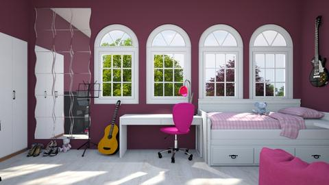 Coming of Age - Feminine - Bedroom  - by mydreamjob25