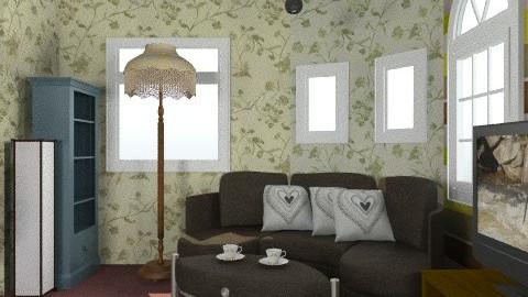 livingretro2 - Retro - Living room  - by reyfa farah nurwahidah