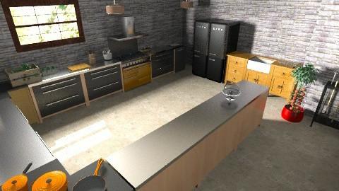 Restaurant - Rustic - by lorzatrol