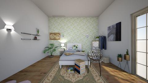 nature  - Minimal - Bedroom - by asfaarissa