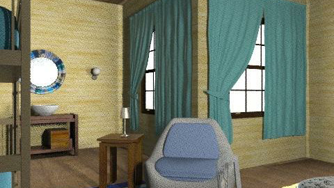 faház - Country - Bedroom  - by Audrey17