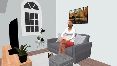Small Living Room - Minimal - Living room - by Meadow_Wolfy