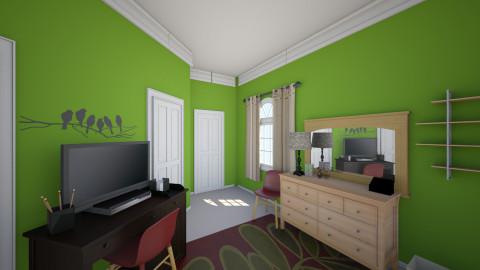 moms bedroom final - Bedroom - by dbell319