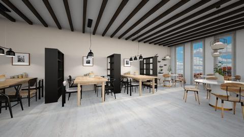 Modern Restaurant  - Modern - Dining room  - by evabarrett