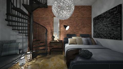 bedroom - by elinalinder