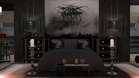 Darkthrone room to GA - by ZsuzsannaCs
