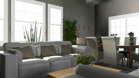Country Home 4 - Country - Living room  - by Cathd0411