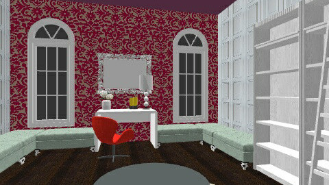 Chic Office Space - Glamour - Office  - by girlygal