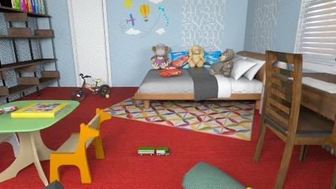For Aidan - Eclectic - Bedroom - by Theadora
