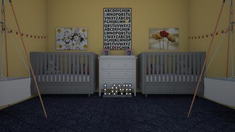 cute baby girls - Kids room - by briellej81