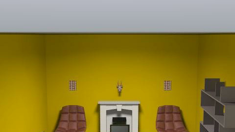 Nathalie - Retro - Living room  - by paper
