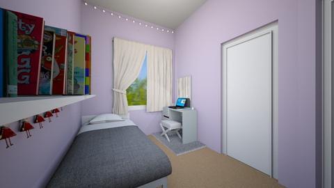 Sophias room - Bedroom  - by REAL MEE