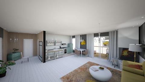 hallway - Bedroom  - by catrinel2409