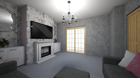 living room 4 design - Living room  - by loisep1999