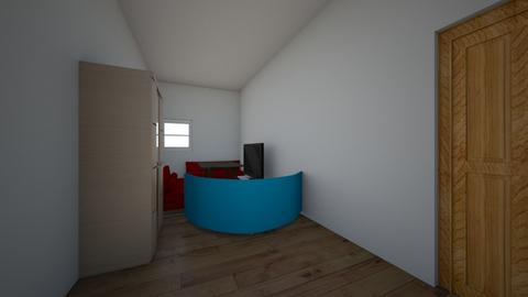Wonderful integrated hous - Living room - by salah bouslouguia