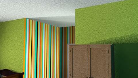jodie williams - Retro - Bedroom  - by jodiedesigner1990