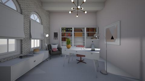 floor lamps - Office  - by GretaMillie