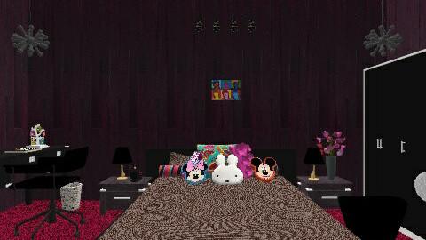 my dream room - Glamour - Bedroom  - by taniya143