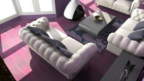 purple elegance  - Glamour - Living room  - by meganjoy