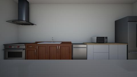 Single Line Island - Kitchen  - by jmcbride