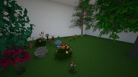 kamal - Garden  - by prasad wijesinghe