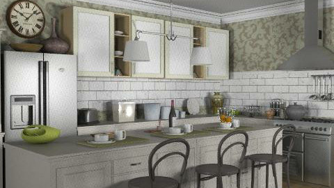 Kitchen - Rustic - Kitchen  - by PerfectTime