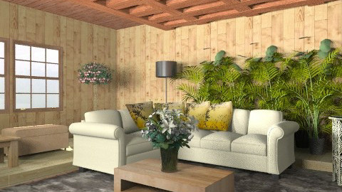 casa madeira  - Rustic - Living room  - by ninaswiman