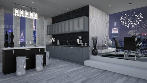 MODERN VIBES - Modern - Kitchen  - by RS Designs