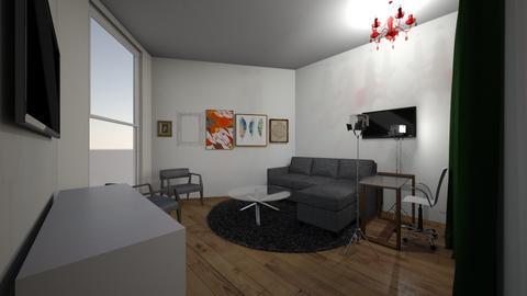 living bedroom - Vintage - Living room  - by damiennyu2