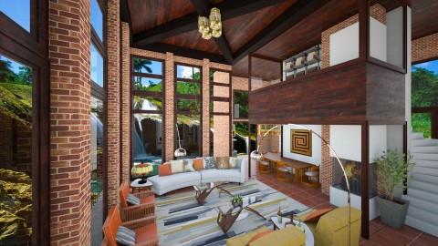 Frank Lloyd Right - Garden - by myideas interiors